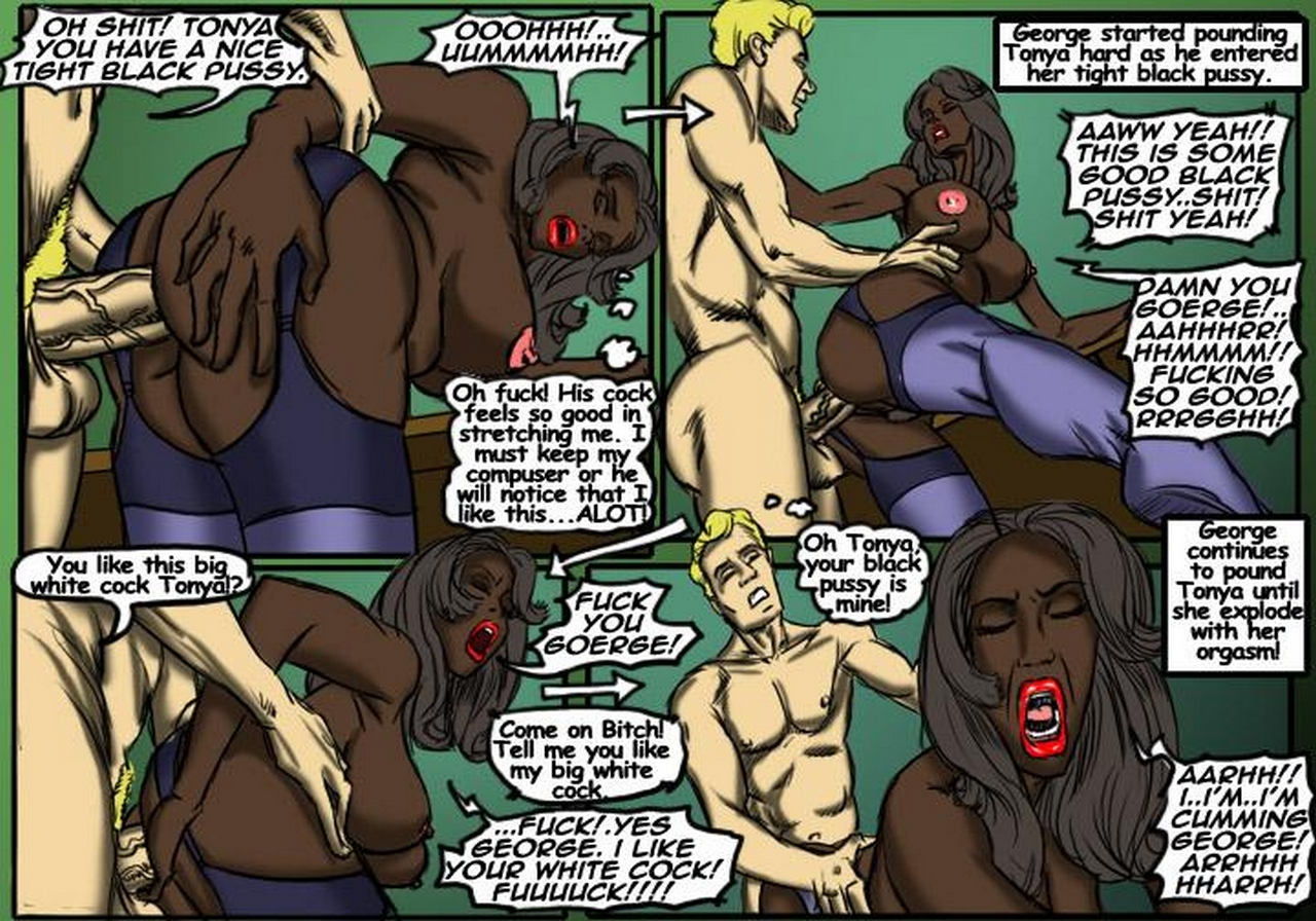 Black-Bitch 6 free sex comic