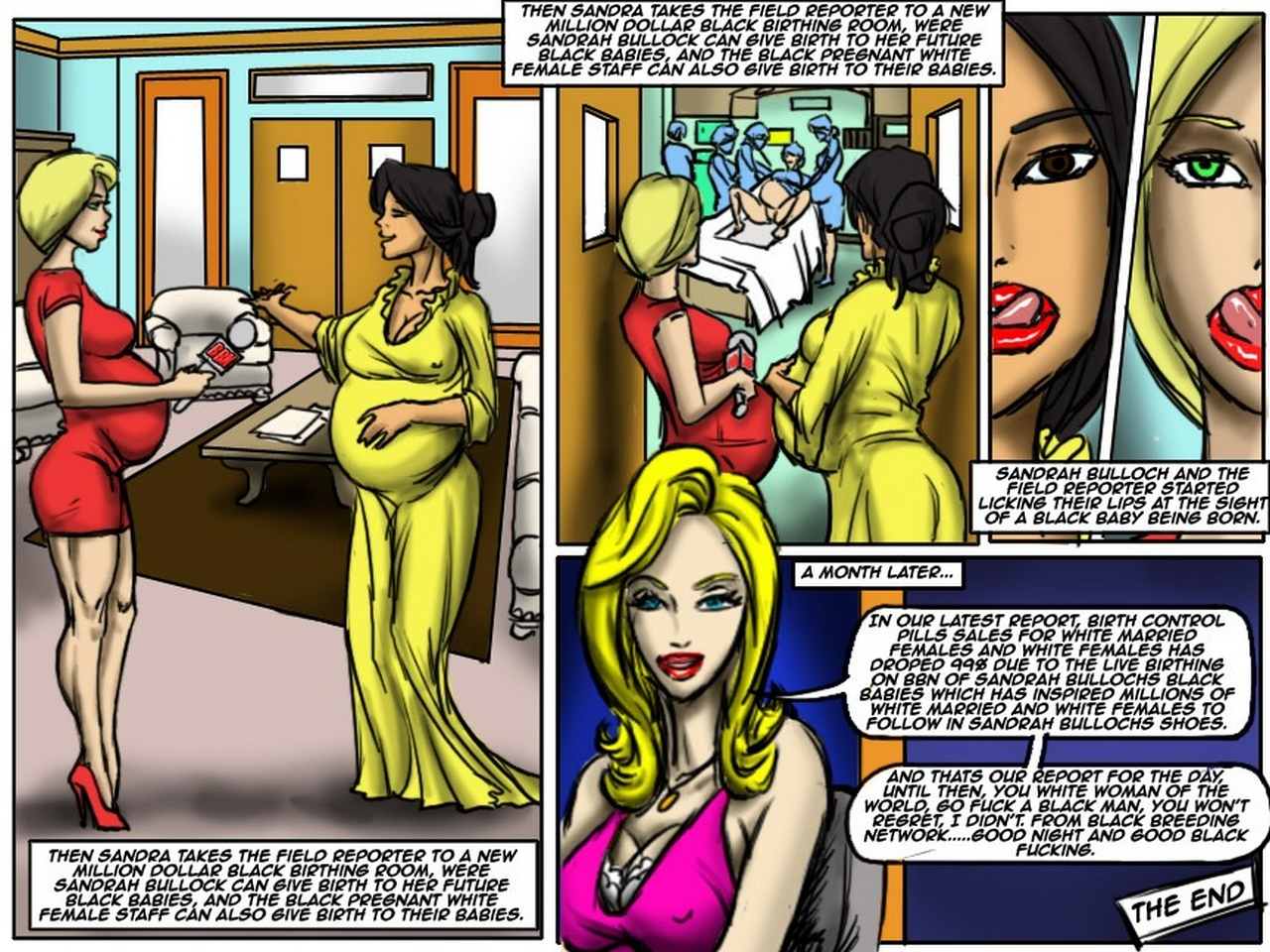 Black Breeding Network 2 comic porn