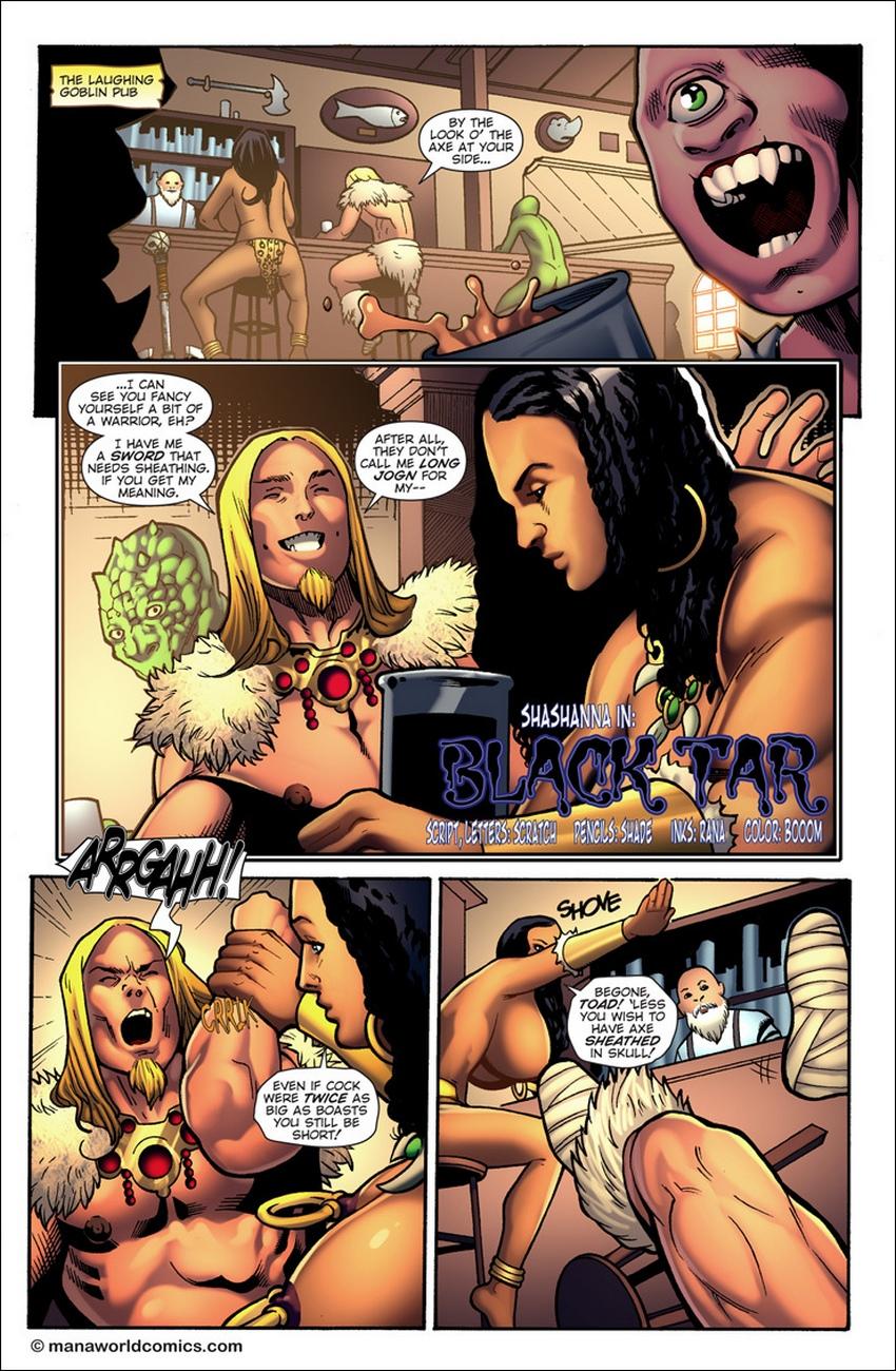 Black-Tar 2 free sex comic