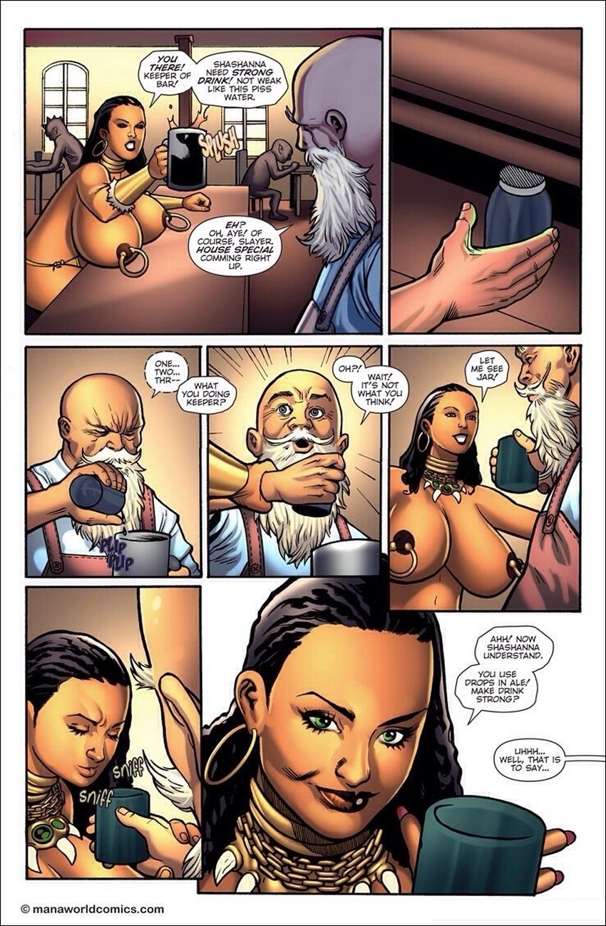 Black-Tar 4 free sex comic