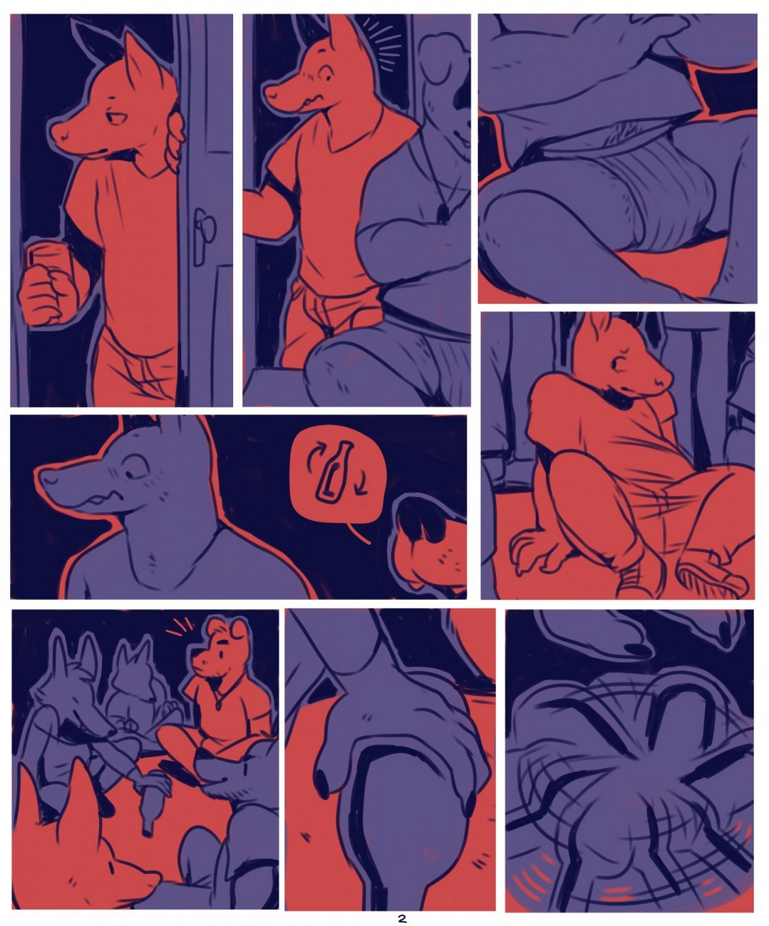 Blue-Party 2 free sex comic