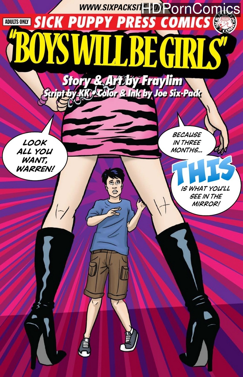 Boys-Will-Be-Girls 1 free porn comics