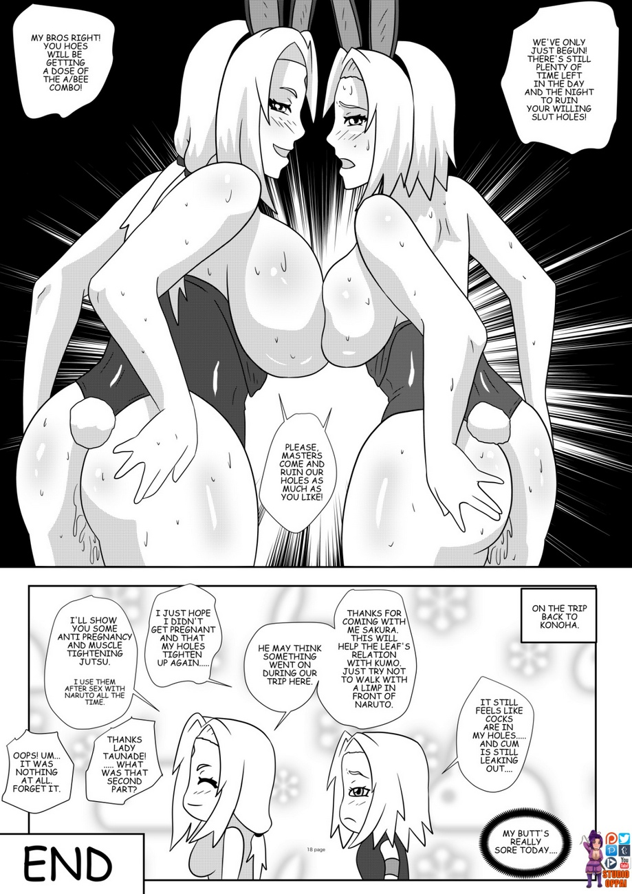 Bunnies From Konoha comic porn