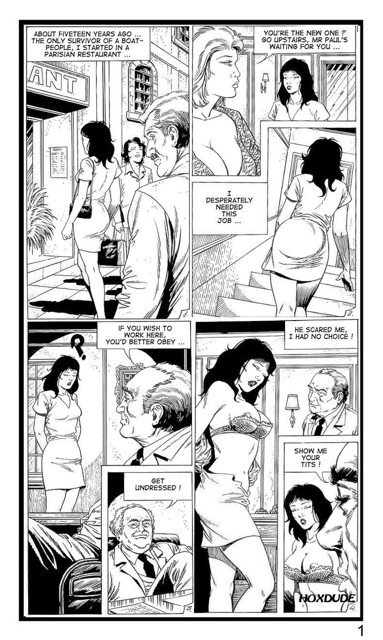 Coming-From-Vietnam-I-Became-A-Waitress 2 free sex comic