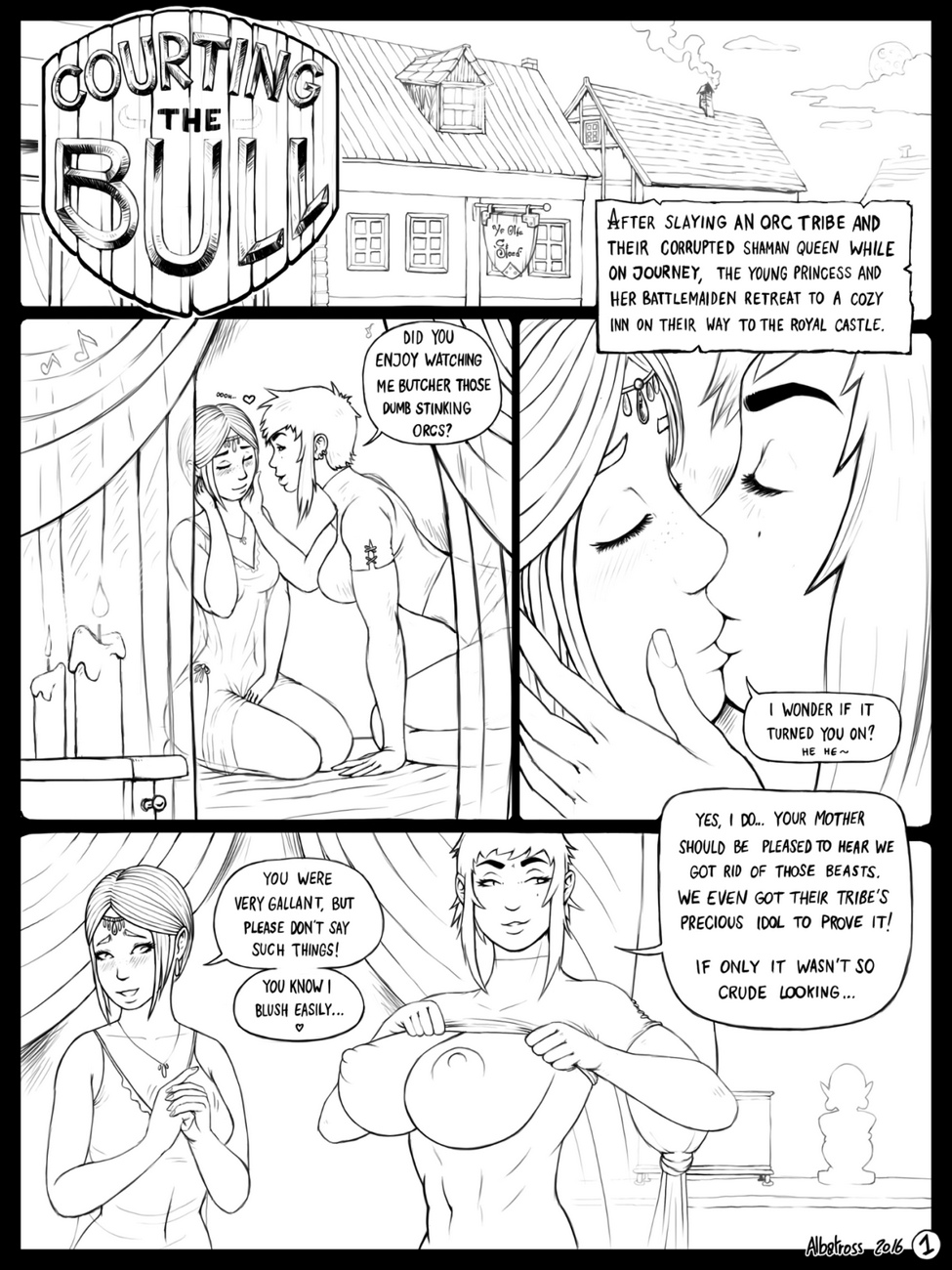 Courting-The-Bull 2 free sex comic