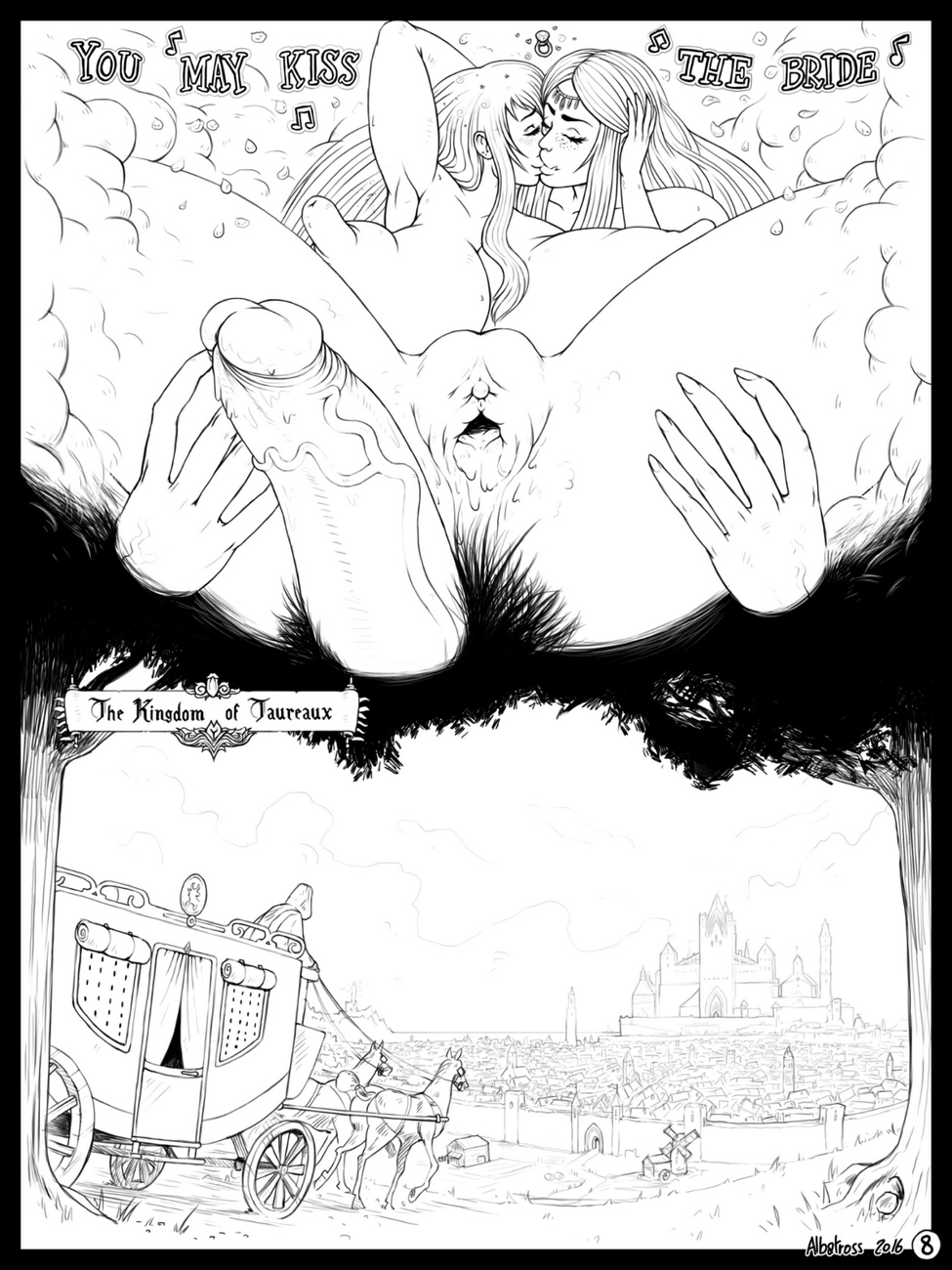 Courting-The-Bull 9 free sex comic