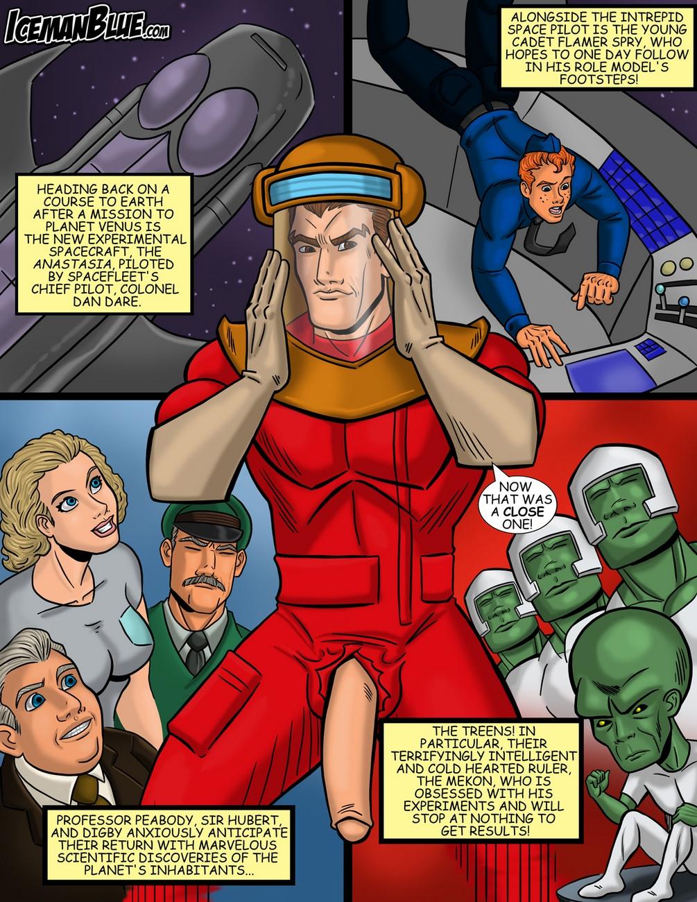 Dan-Dare 2 free sex comic