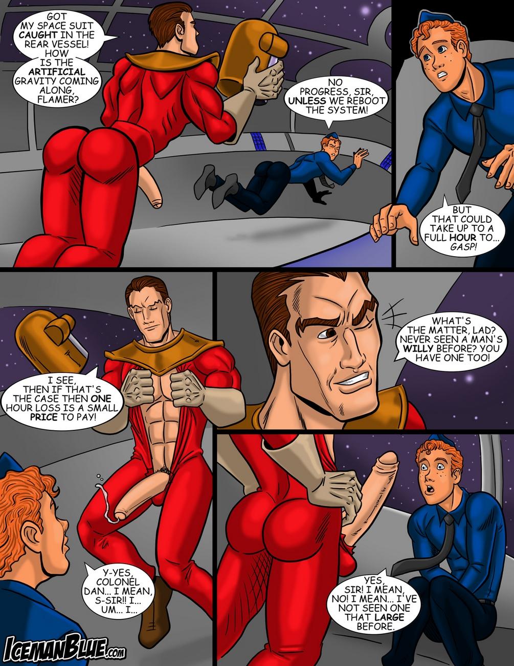 Dan-Dare 3 free sex comic