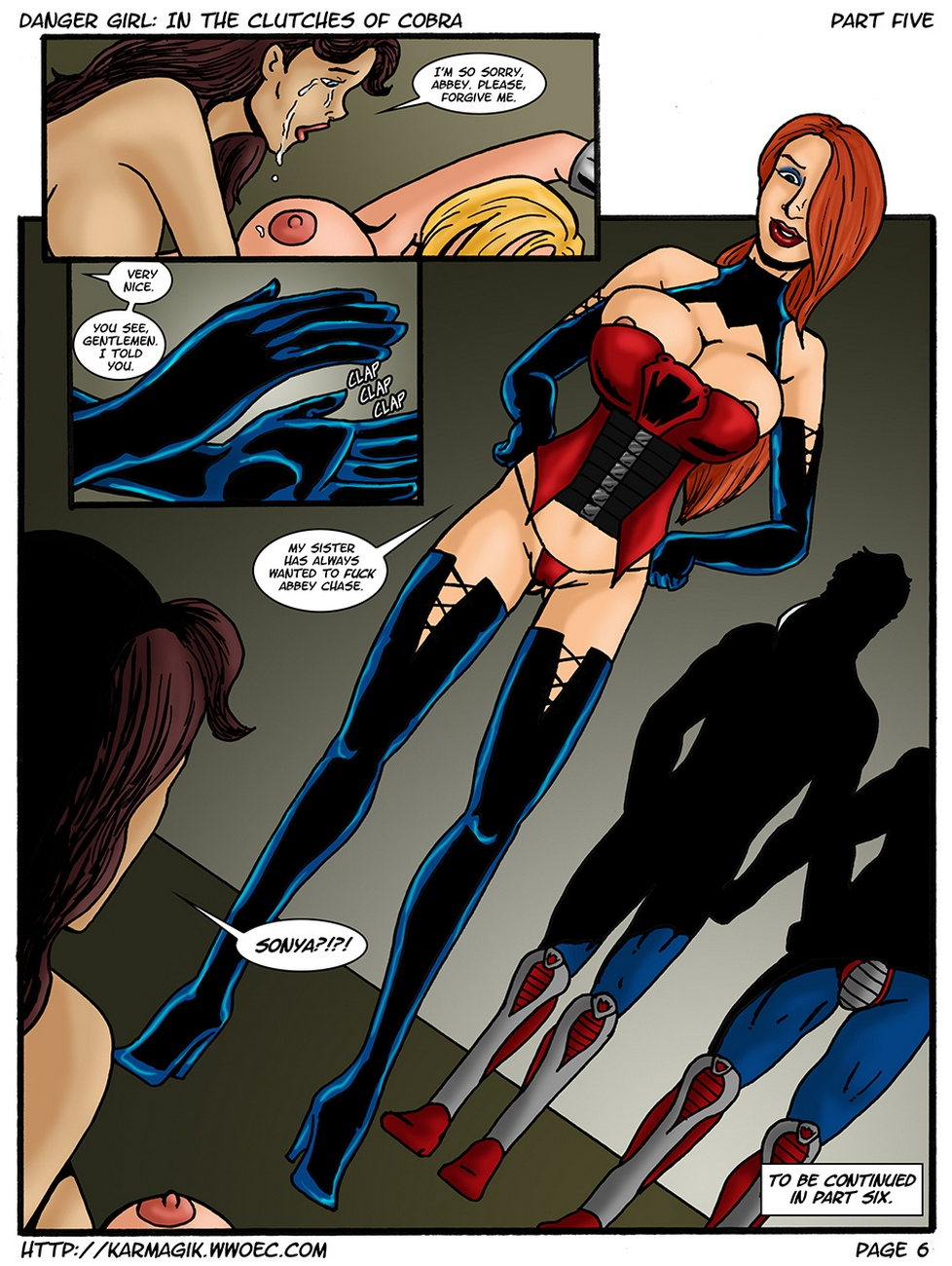 Danger Girl – In The Clutches Of Cobra 5 comic porn