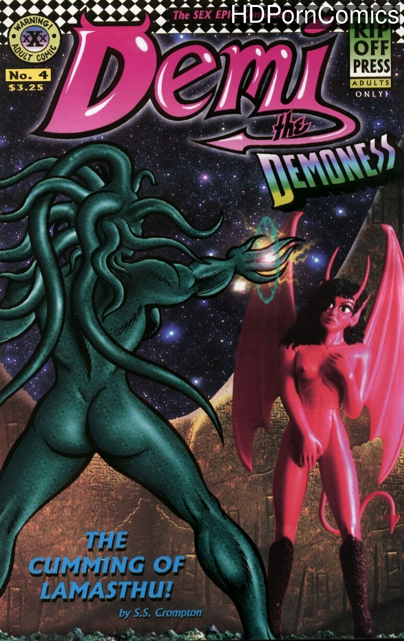 Demi The Demoness Hardcore 4 comic porn