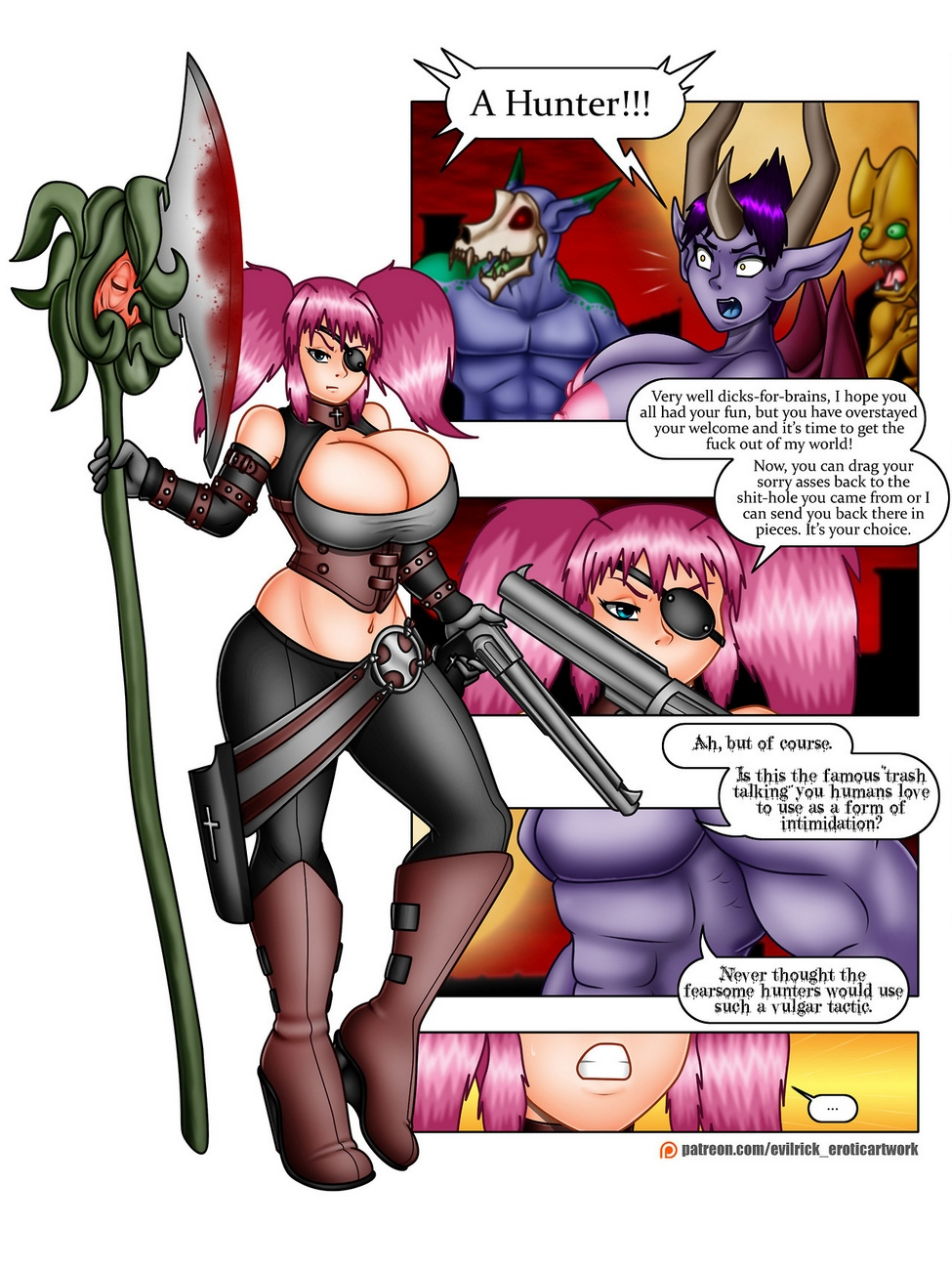 Demon-Hunter 9 free sex comic