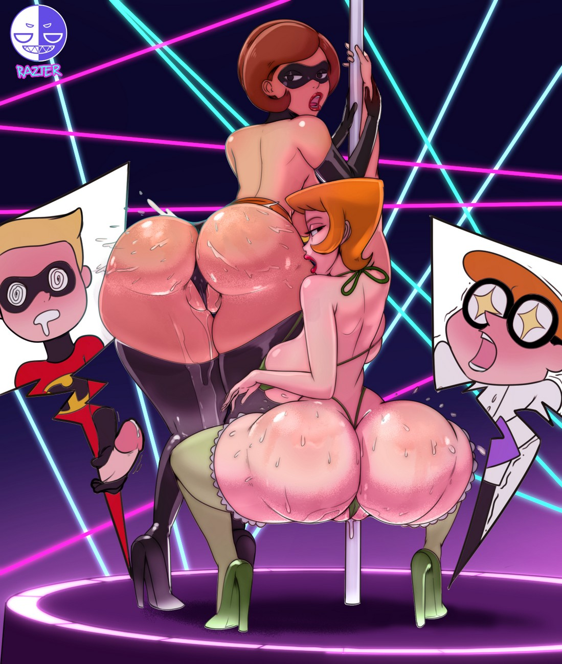 100 Pictures of Elastigirl Porno