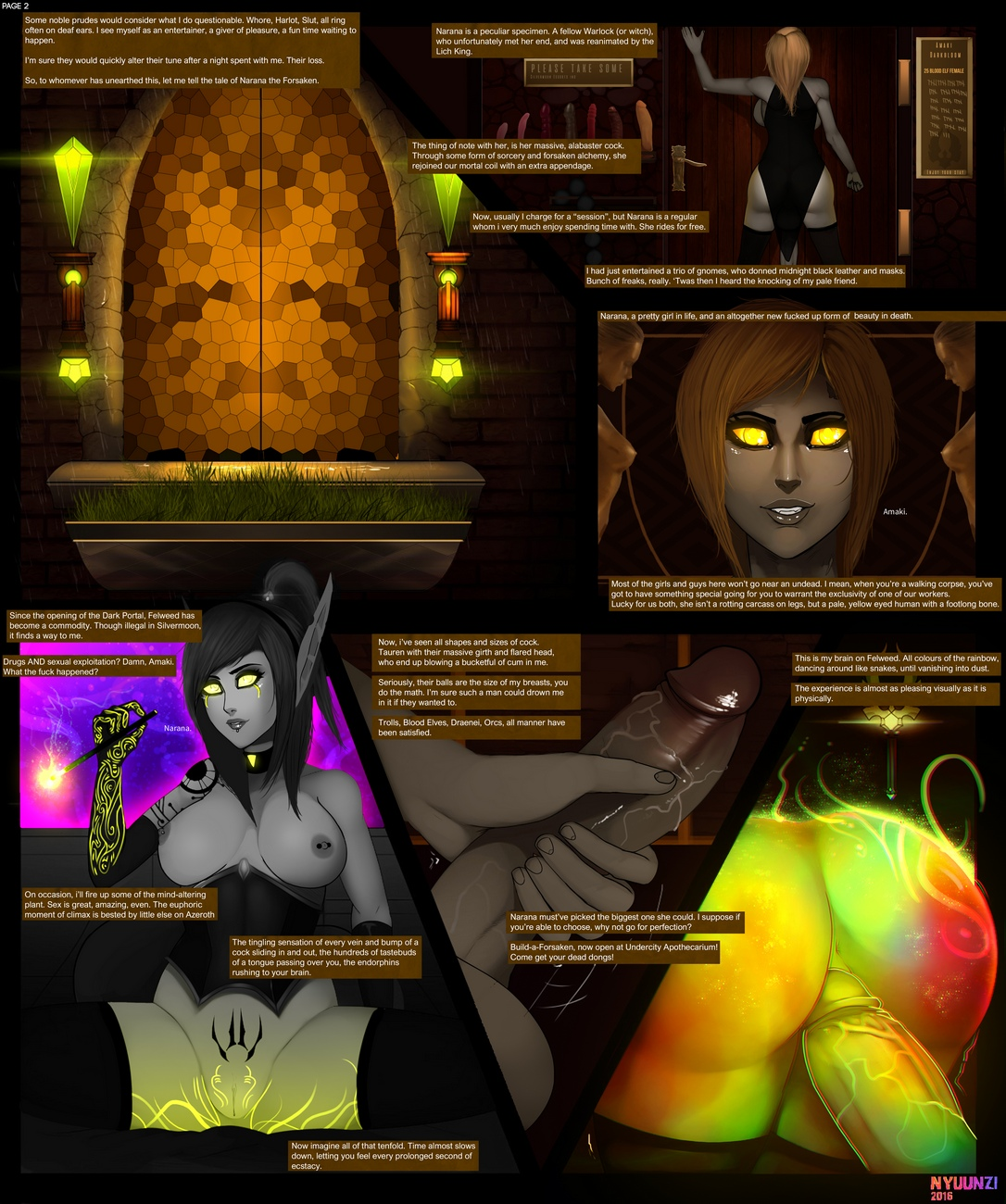 Diary-Of-A-Blood-Elf-1 3 free sex comic