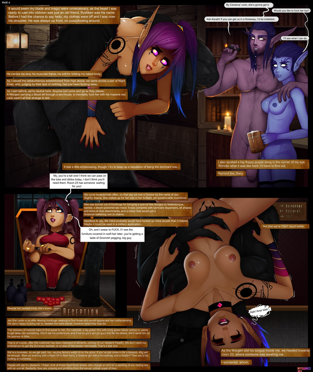 Diary-Of-A-Blood-Elf-1 7 free sex comic