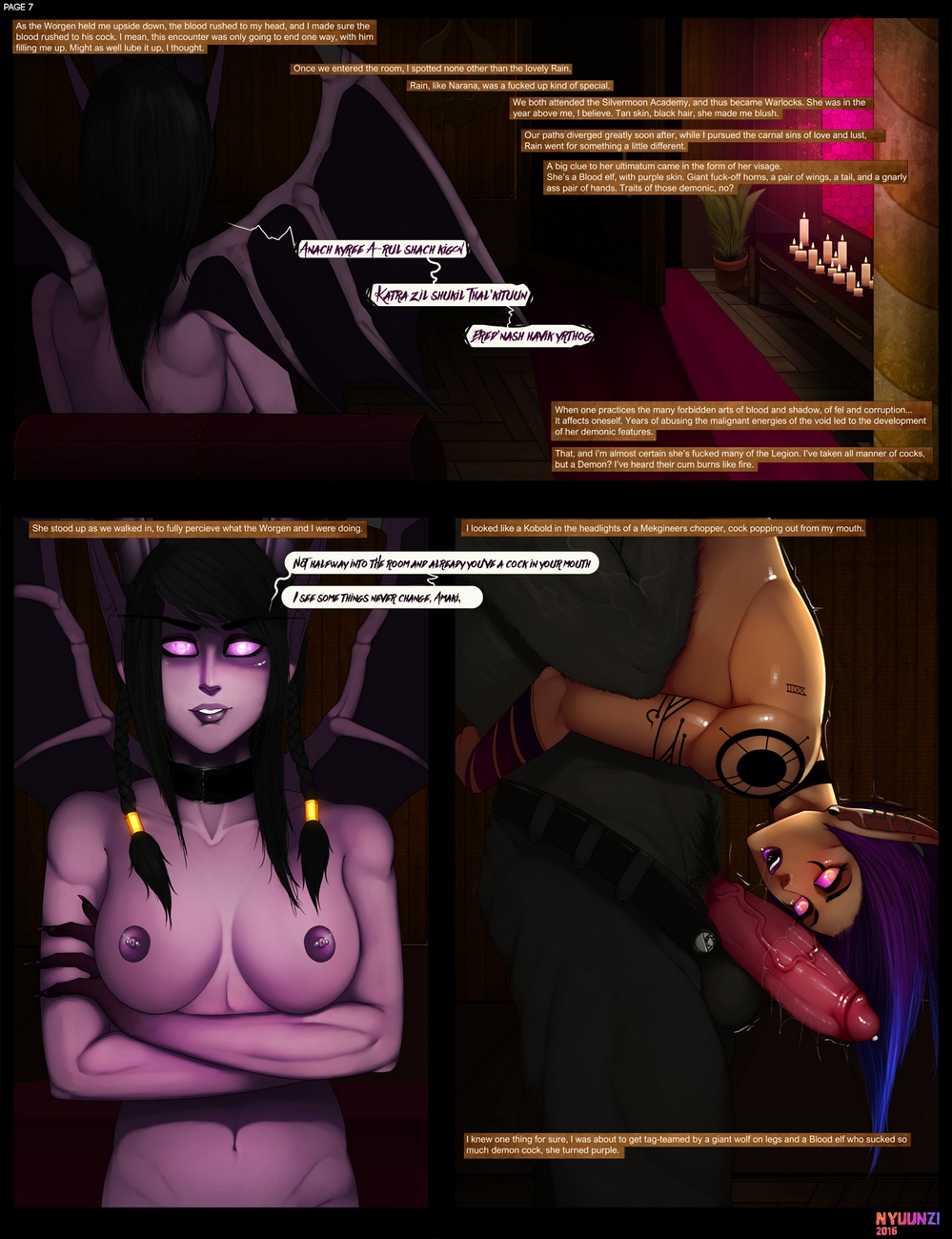 Diary-Of-A-Blood-Elf-1 8 free sex comic