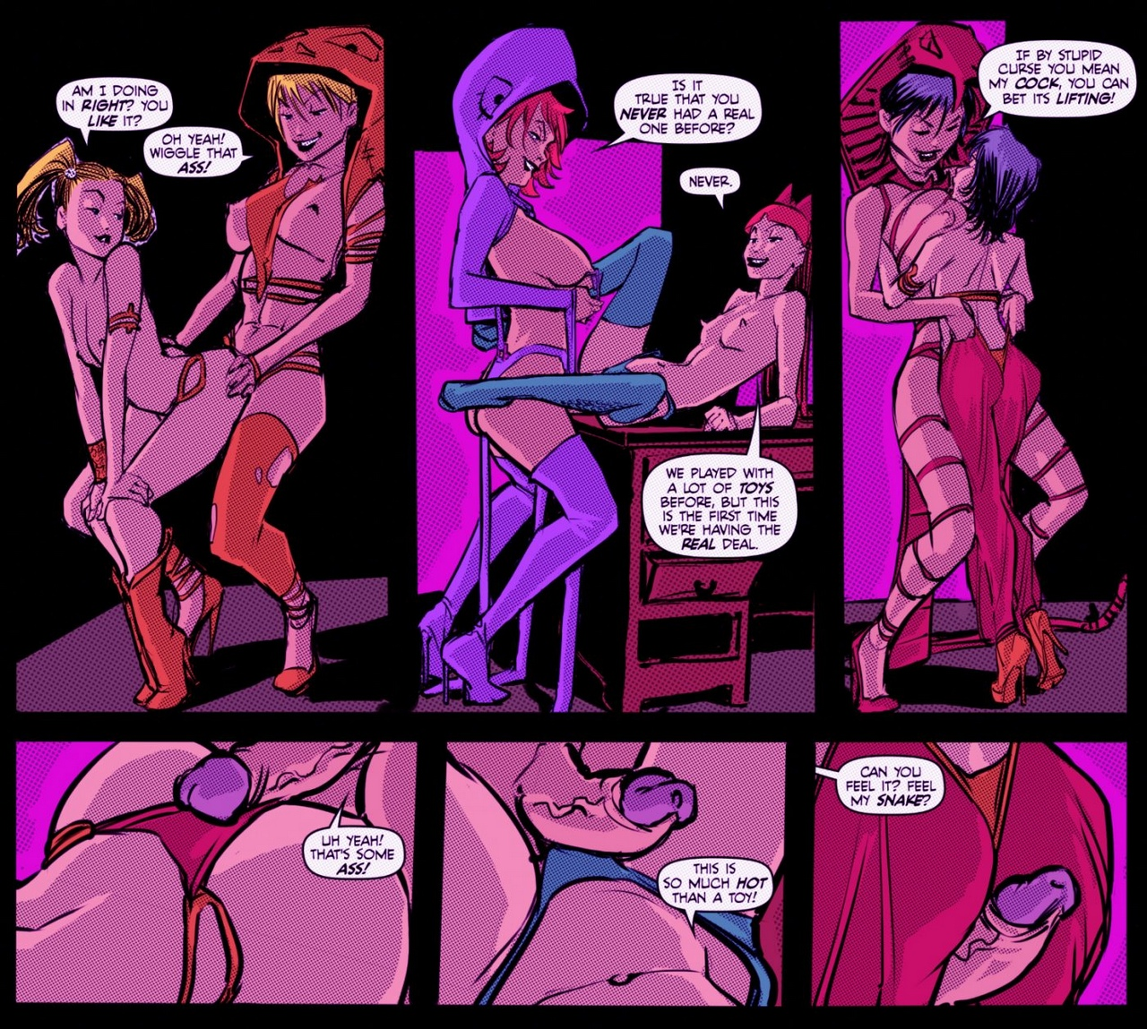 Dick-Or-Treat 17 free sex comic
