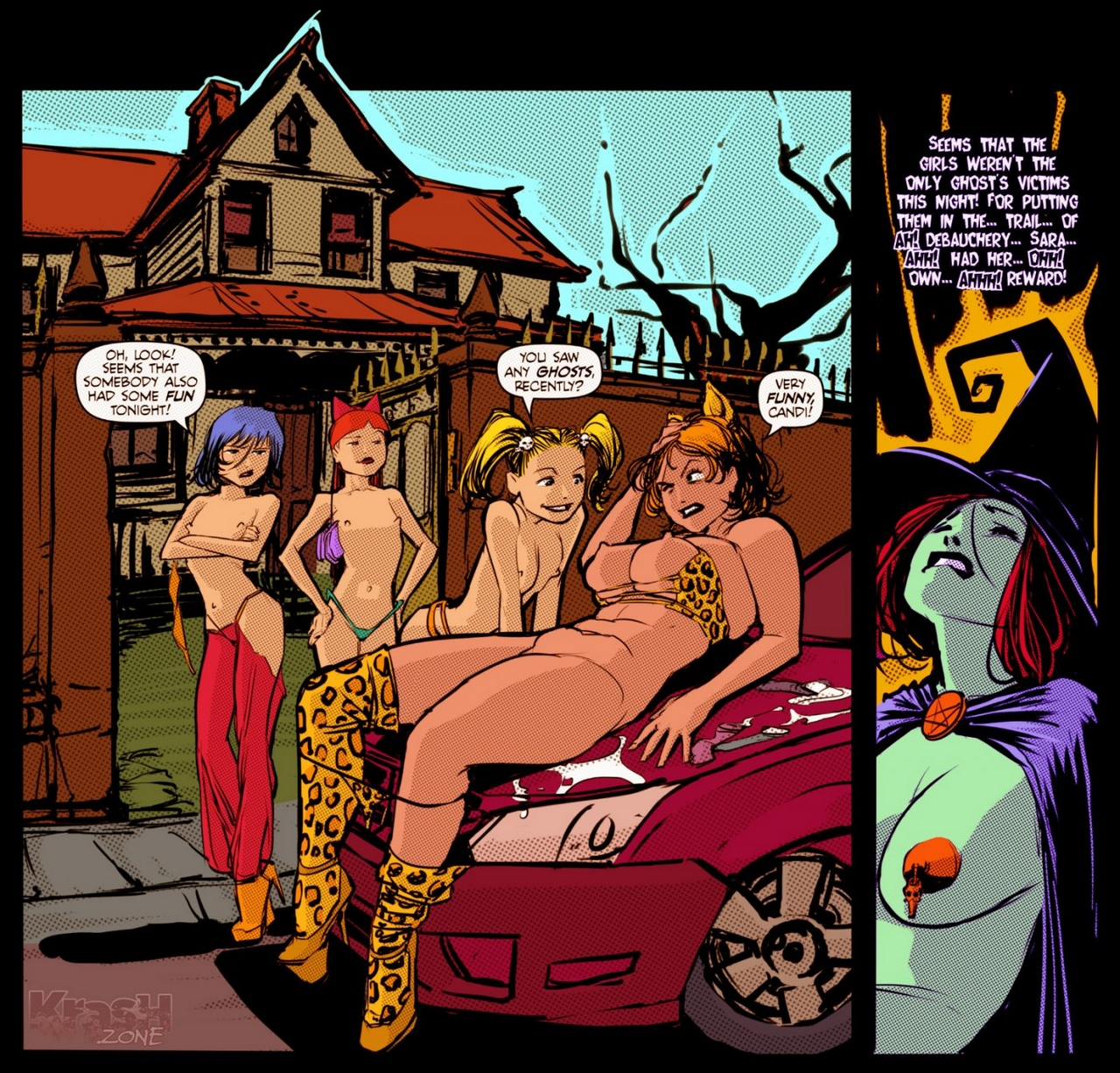 Dick-Or-Treat 25 free sex comic