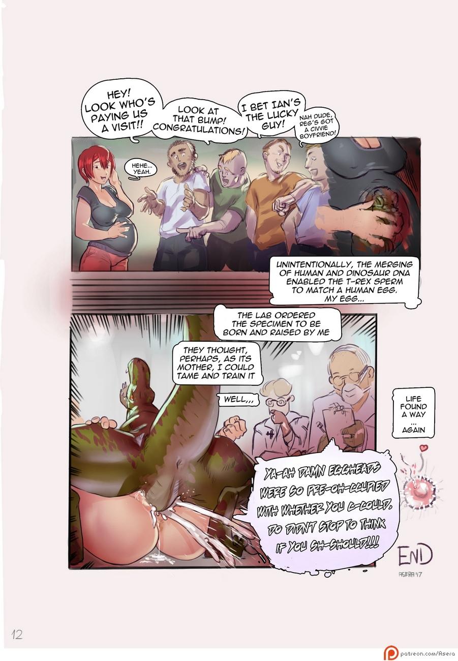 Dino D comic porn