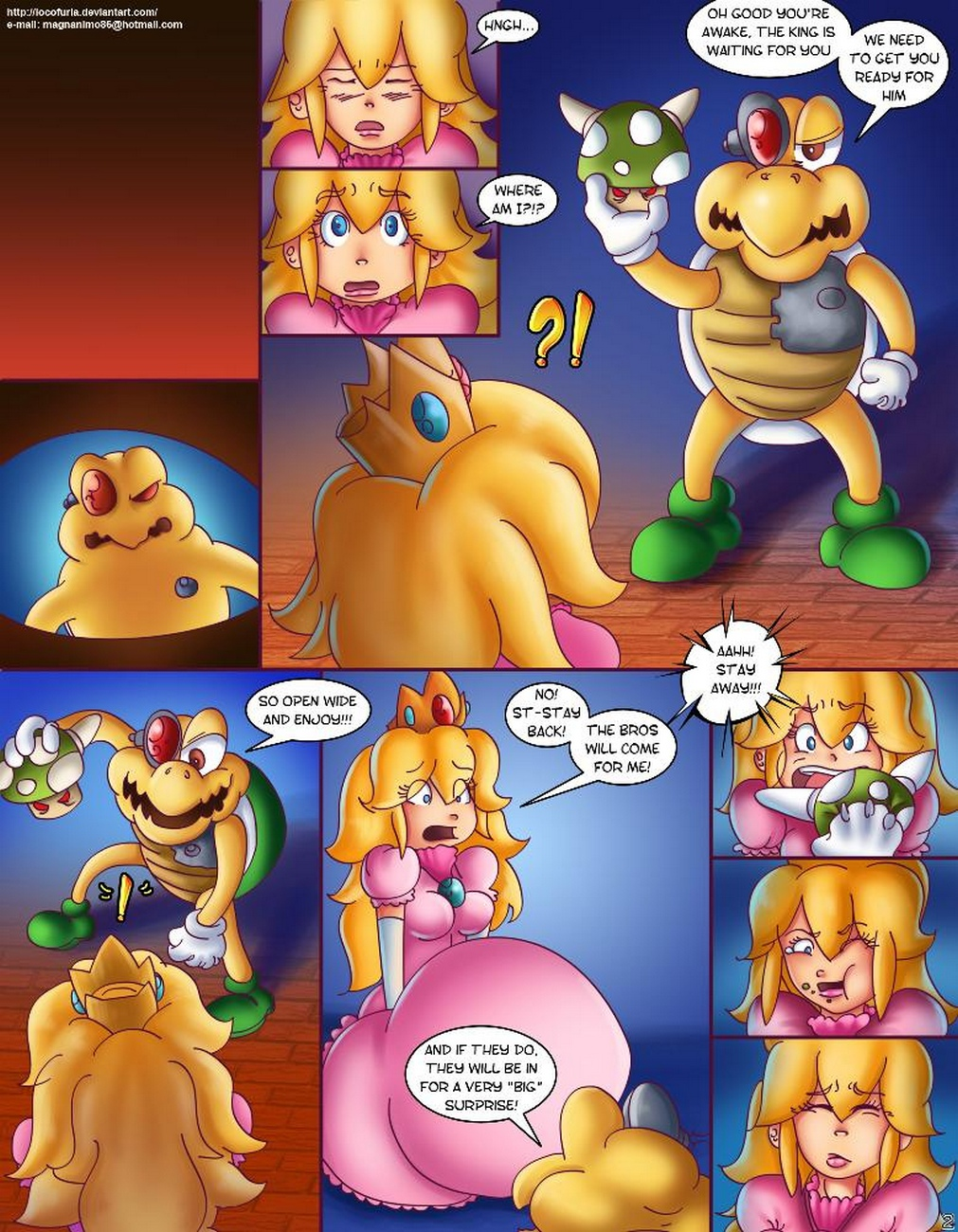 Dragon-Peach 3 free sex comic