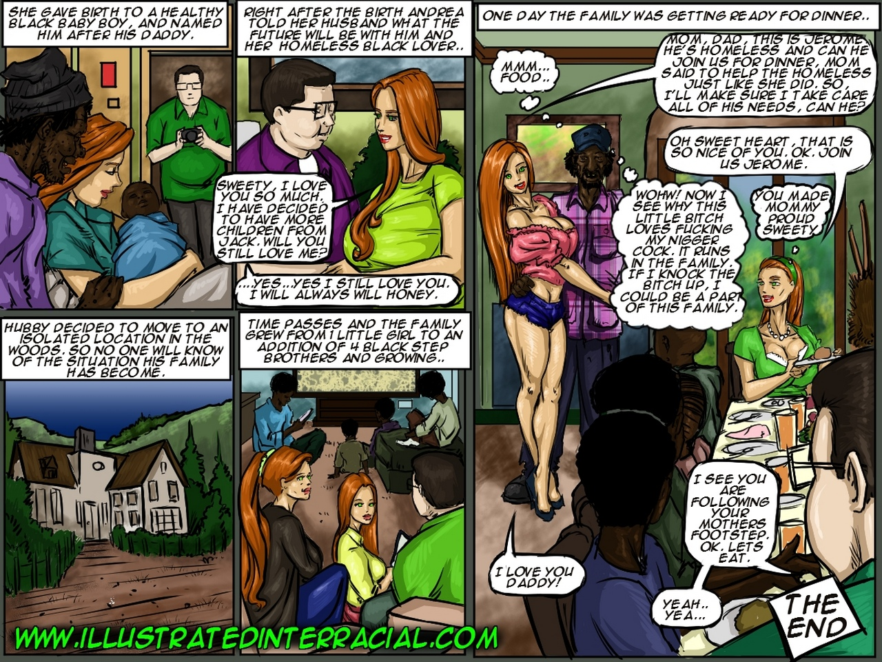 Most Popular, Black & Interracial, Cheating, Milf, Gangbang, Urination, Pregnant & Impregnation, Group: IllustratedInterracial, Emptiness comic porn