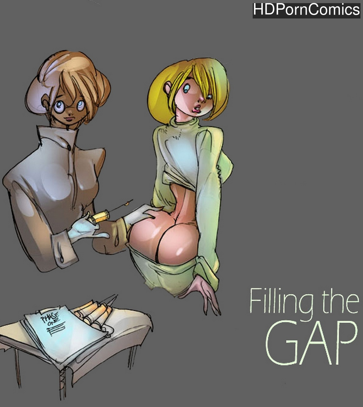 Filling The Gap comic porn
