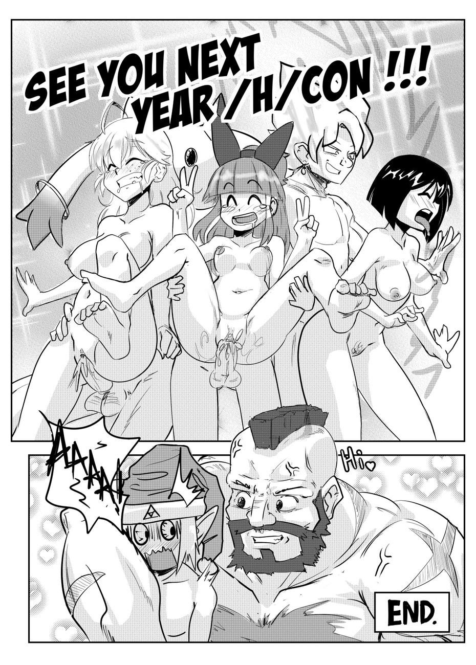 H-Con 46 free sex comic