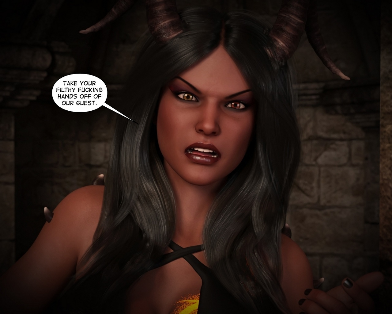 Helen-Black-Vampire-Hunter-To-Hell-1 26 free sex comic