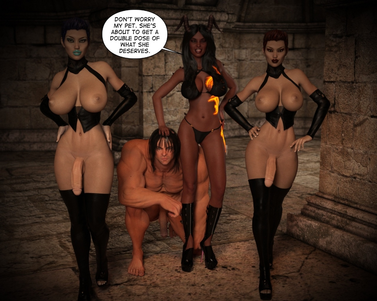 Helen-Black-Vampire-Hunter-To-Hell-1 29 free sex comic