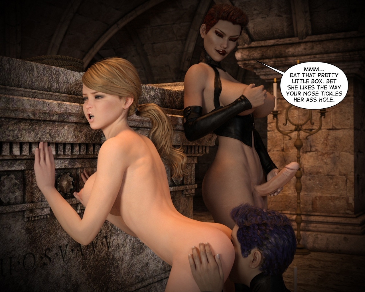 Helen-Black-Vampire-Hunter-To-Hell-1 38 free sex comic