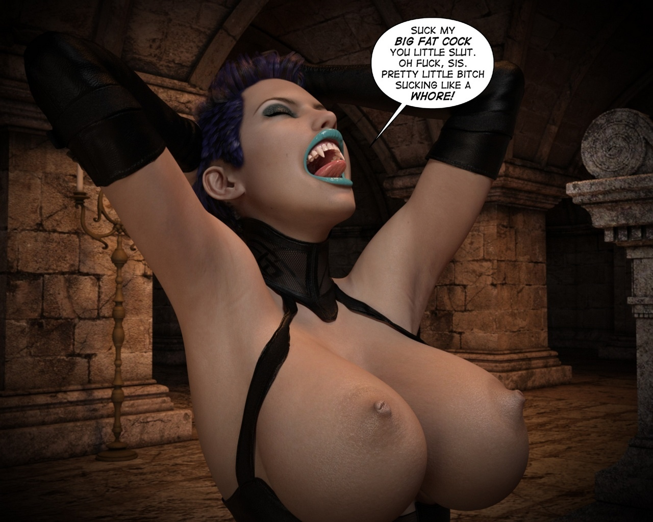 Helen-Black-Vampire-Hunter-To-Hell-1 46 free sex comic