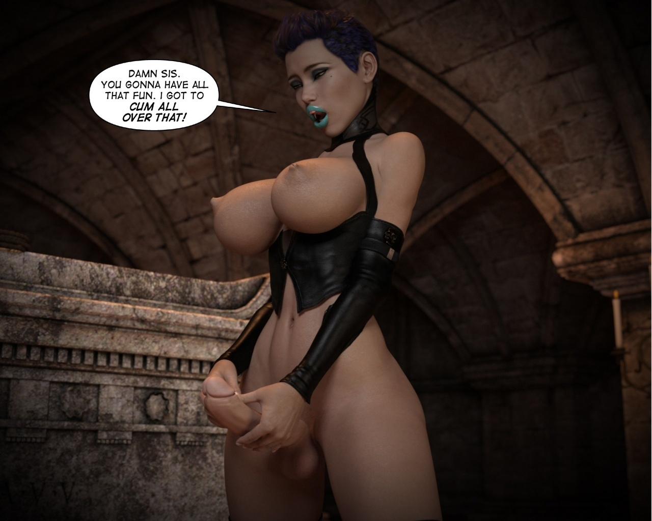 Helen-Black-Vampire-Hunter-To-Hell-1 53 free sex comic