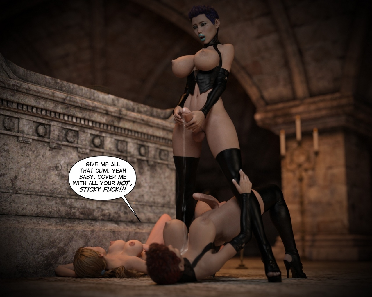 Helen-Black-Vampire-Hunter-To-Hell-1 54 free sex comic