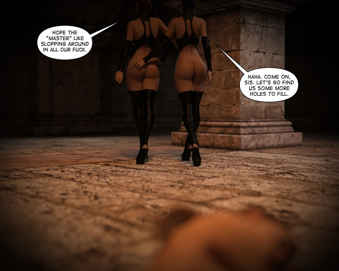 Helen-Black-Vampire-Hunter-To-Hell-1 57 free sex comic