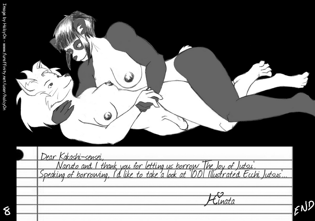 Hinata's Love Jutsu comic porn