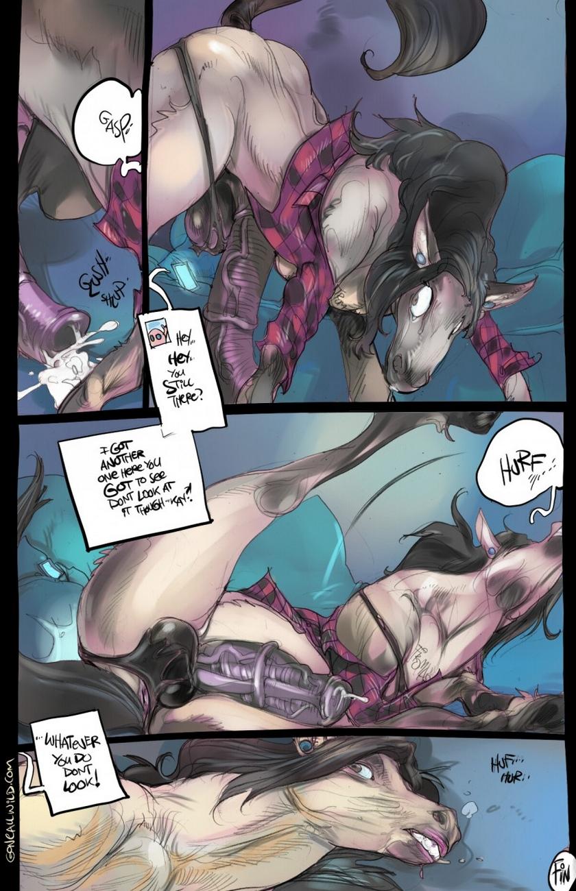 Pony sex comic