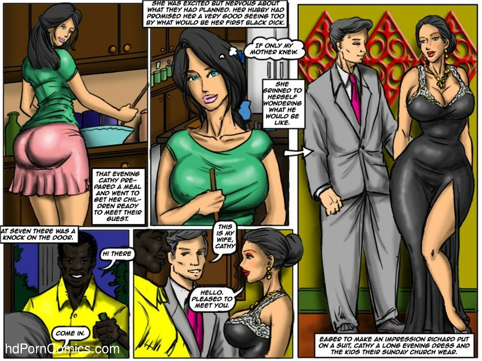 Lady tranny interracial comics