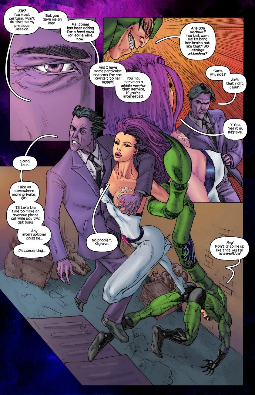 Jessica-Jones 4 free sex comic