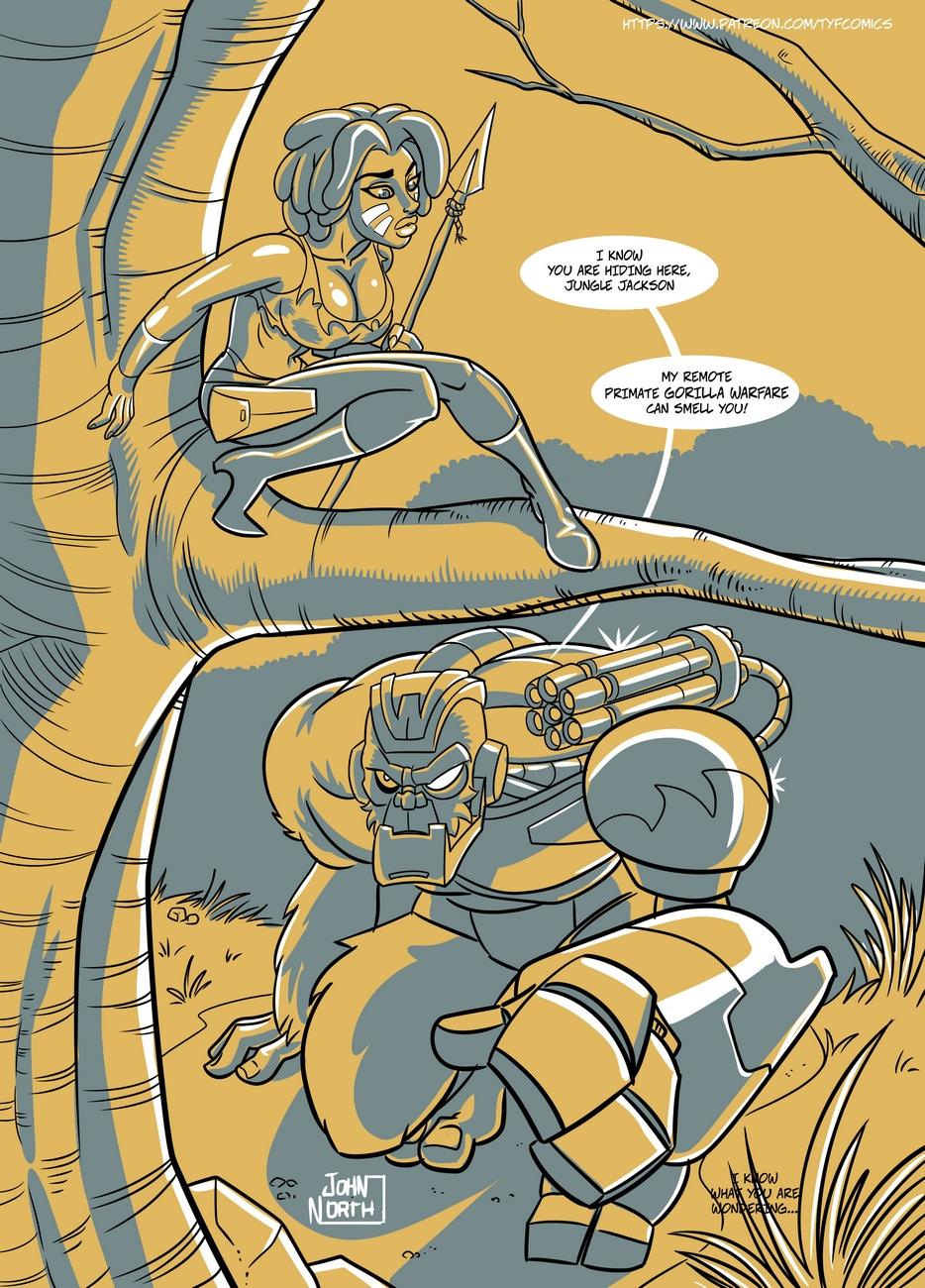 Jungle-Jackson 3 free sex comic