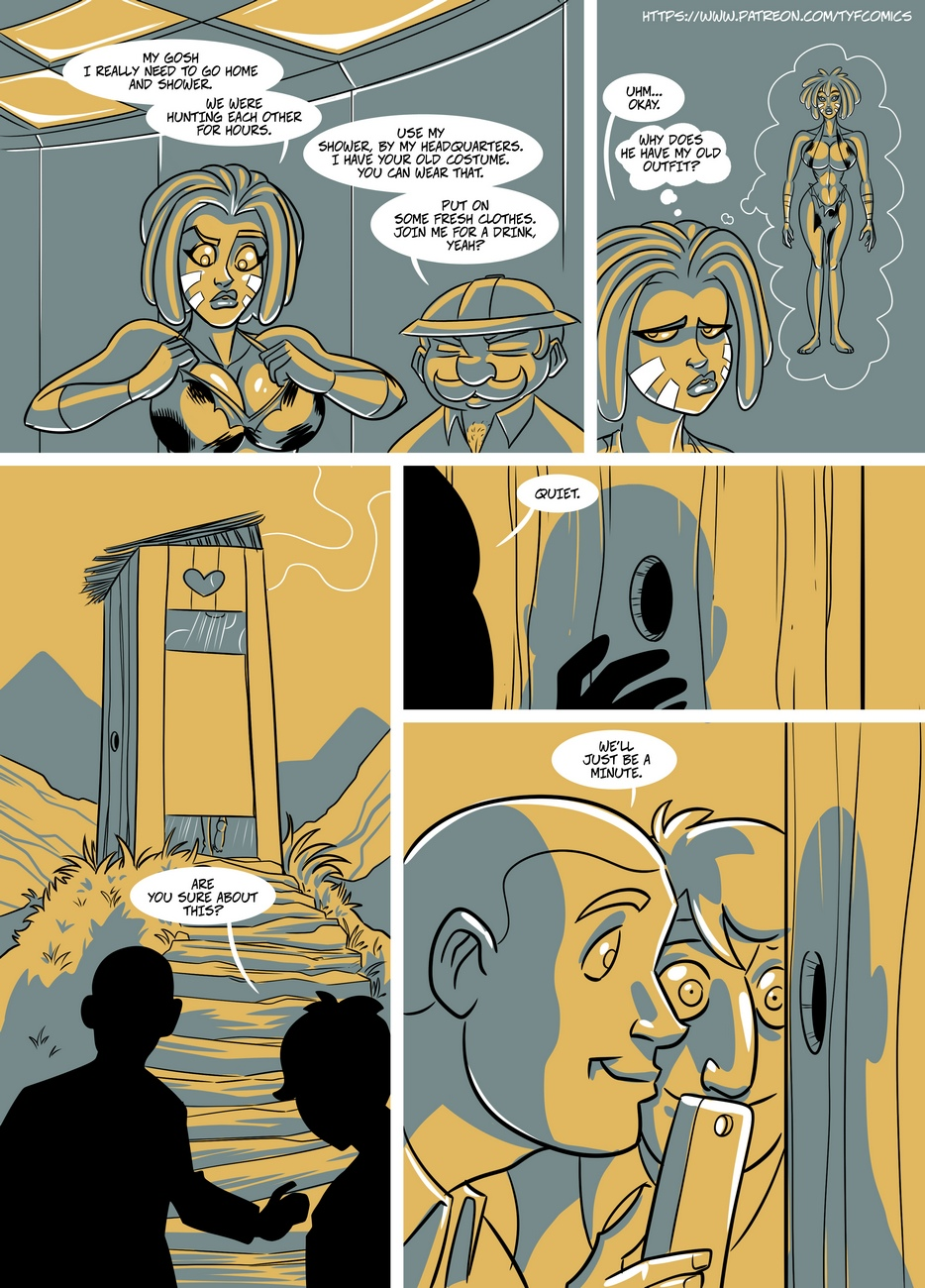 Jungle-Jackson 8 free sex comic