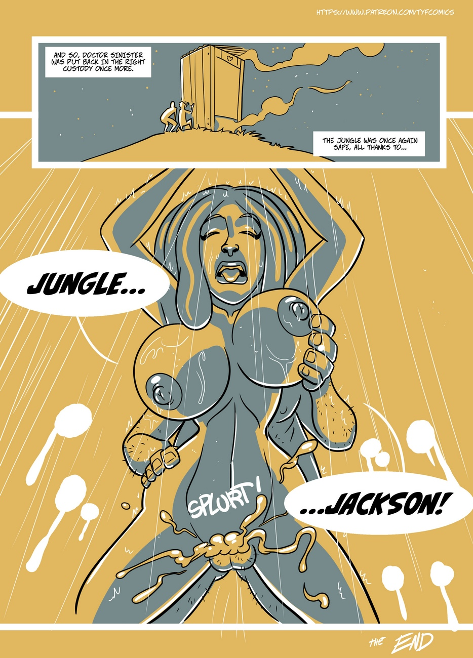 Jungle Jackson comic porn