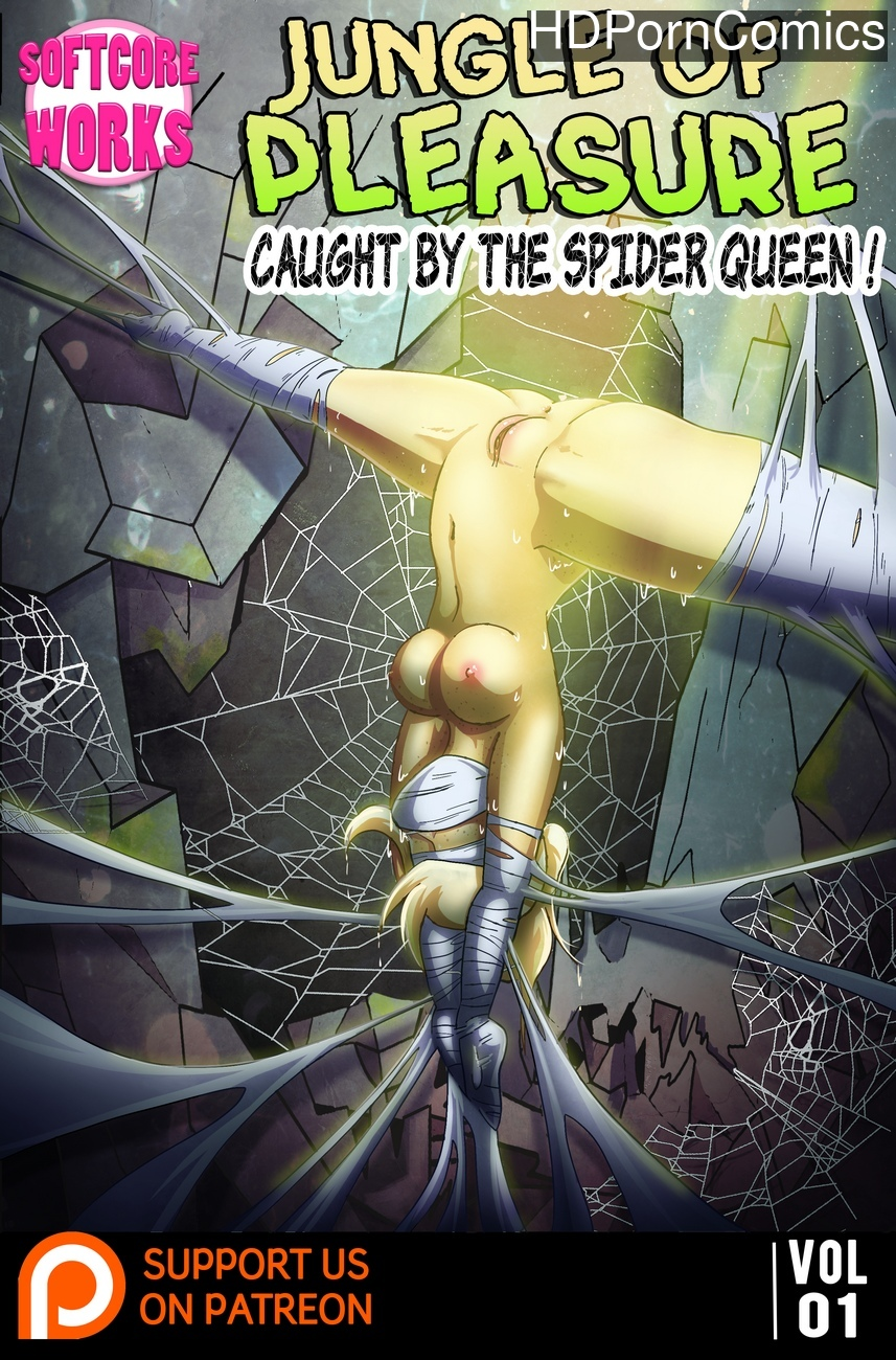 Jungle-Of-Pleasure-Volume-1-Caught-By-The-Spider-Queen 1 free porn comics