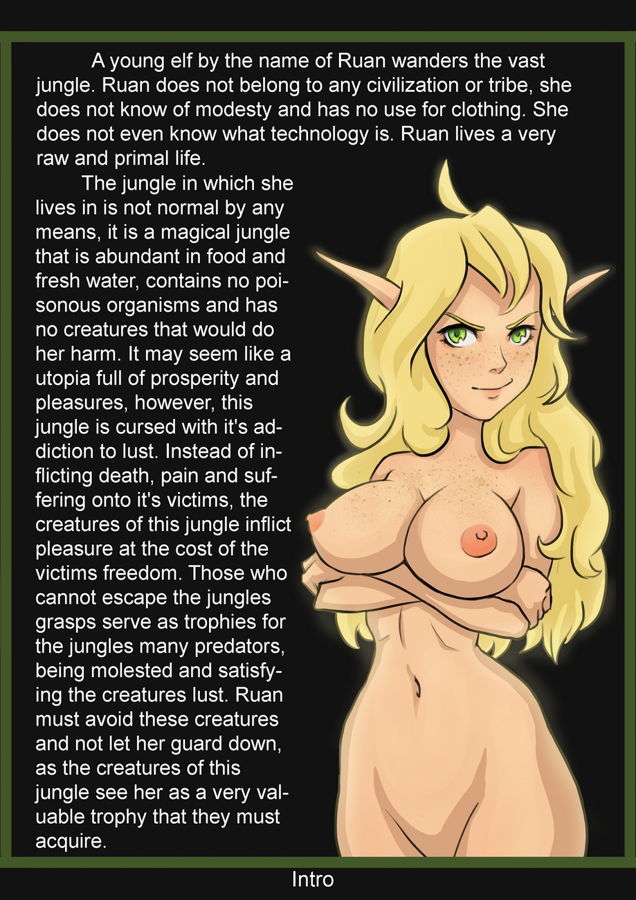 Jungle-Of-Pleasure-Volume-1-Caught-By-The-Spider-Queen 2 free sex comic