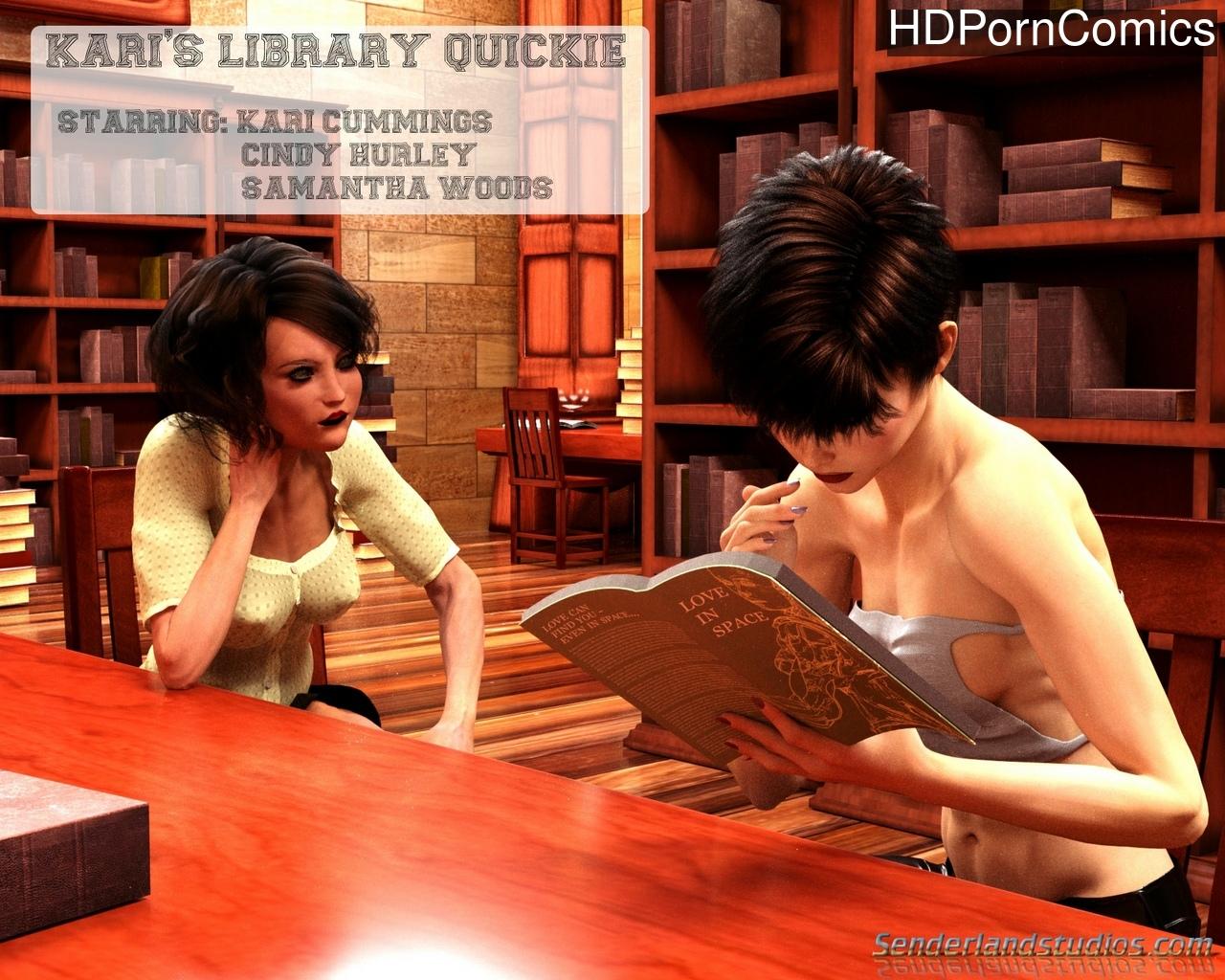 Kari's Library Quickie comic porn
