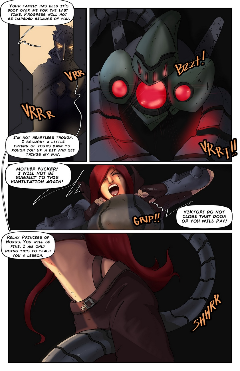Katarina-And-Velkoz-Rebuilt-And-Reloaded 4 free sex comic