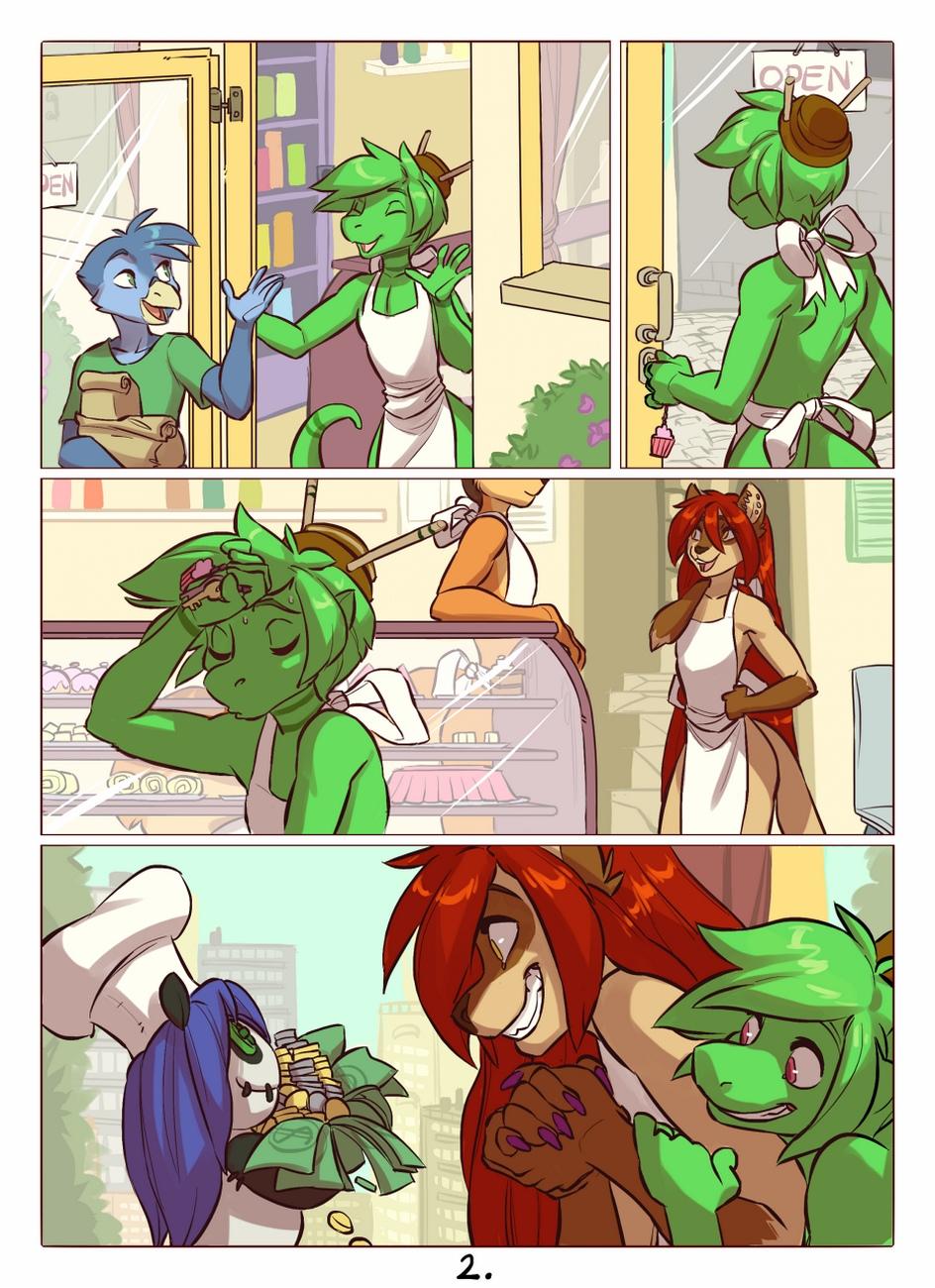 Kitchen-Chaos 3 free sex comic