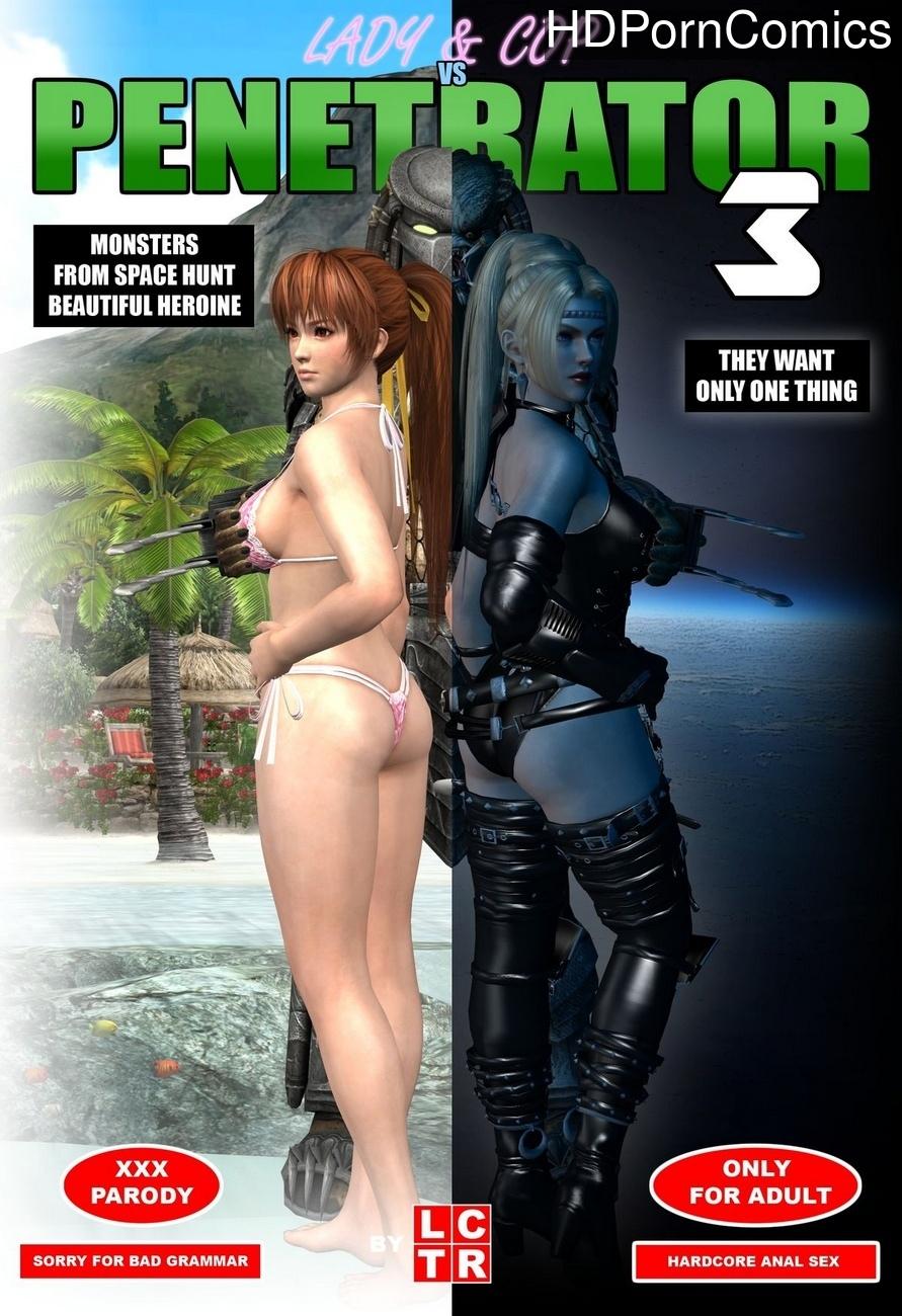 Lady & Cop VS Penetrator 3 comic porn