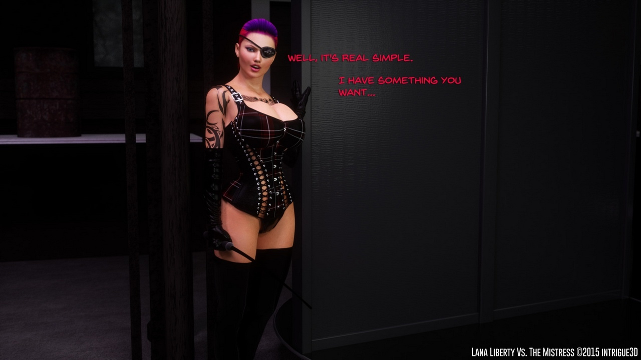 Lana-Liberty-Vs-The-Mistress 7 free sex comic