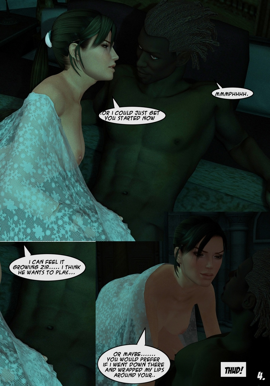 Lara-Croft-And-Doppelganger 4 free sex comic