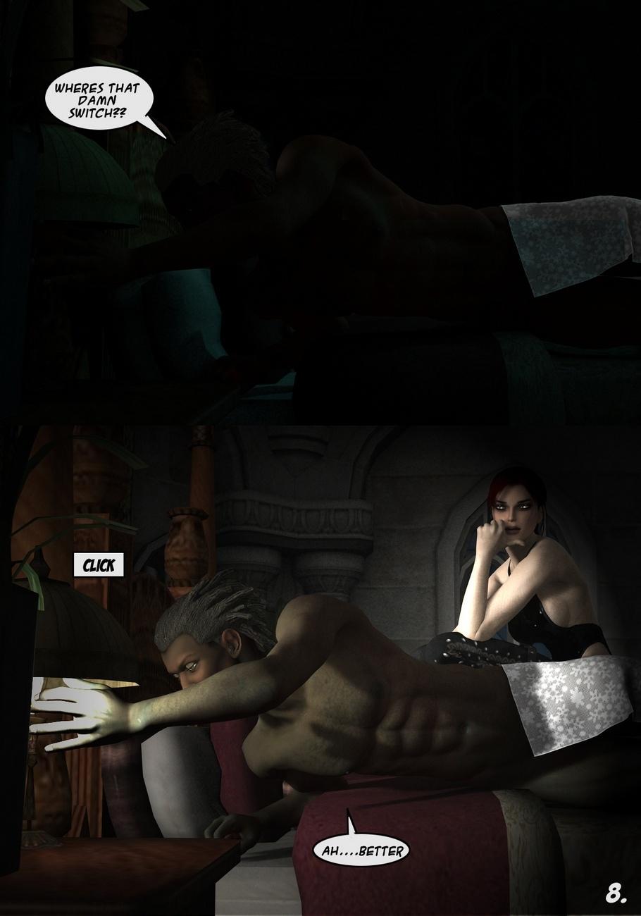 Lara-Croft-And-Doppelganger 8 free sex comic