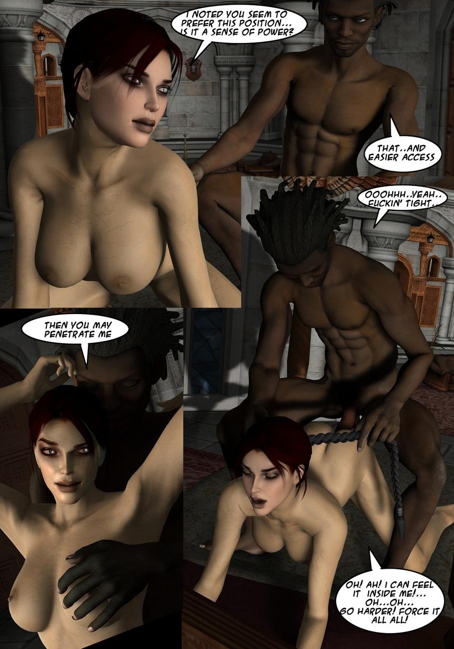 Lara-Croft-And-Doppelganger 18 free sex comic